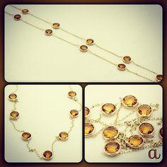 wear some sunshine. spring style. genuine citrine gemstones hand set in rich 14k gold. amazinite jewelry. affordable luxury.   new fashion revolution   http://item.mobileweb.ebay.com/viewitem?itemId=160761724774