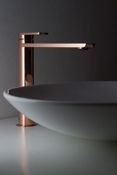 Copper Tall Basin Tap