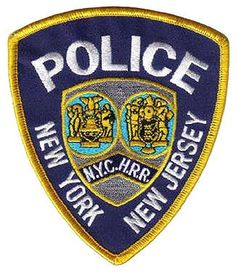 New York Cross Harbor Railroad Police Patch