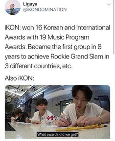iKON Awards Exo, Baekhyun, Scorpio Zodiac Facts, Sassy Diva, Ikon Kpop, Make Smile, Funny Kpop Memes, Kim Hanbin, Kdrama Actors