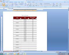 cool spreadsheet templates