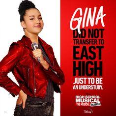 High School Musical, East High School, Disney Plus, Disney Girls, Sofia Wylie, Disney High Schools, Andi Mack, Emperors New Groove, Disney Jokes