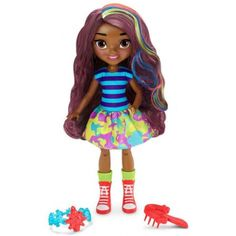 Fisher-Price Nickelodeon Sunny Day Pop-In Style Rox enfants jouet poupée