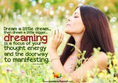 Dream a little dream.... <3
