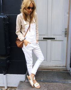 Dungarees, sandals, bags                                                       …
