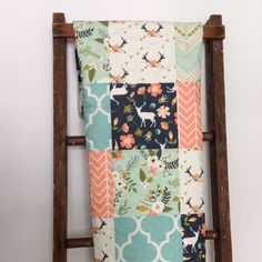 Gorgeous quilt for girls nursery!  Don't for get to add a coordinating crib sheet... Perfect.