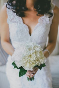 white carnation bouquet | Rustic Wedding by Corné & Lara Photography
