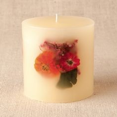Hibiscus Lime Botanical Candle