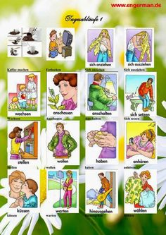 Learn German with these basic and advanced grammar and vocabulary lessons, quizzes, learning tips an German Grammar, German Words, Language Lessons, Language Activities, Advanced Grammar, German Resources, Deutsch Language, Learn Dutch, German English