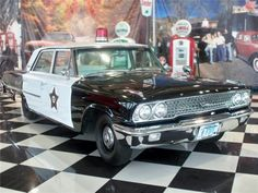 1967 Ford Galaxie 4-Door Police Car.