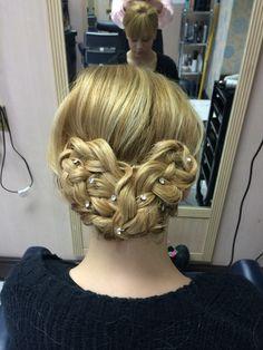 Heart plait  Hair updo Hair up