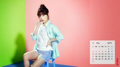 May2015*Taeyeon 1920Wallpaper Calendar<Taeyeon Sweet Wallpaper