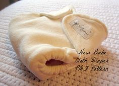 Cloth Diaper Pattern PDF New Babe by 31Rubies on Etsy, $4.00