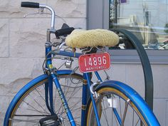 Manitowoc, WI bicycle license plate by Andrew T..., via Flickr