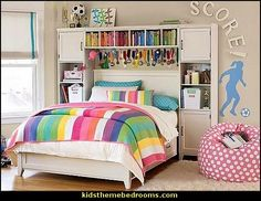Soccer Theme Bedroom Decorating Ideas