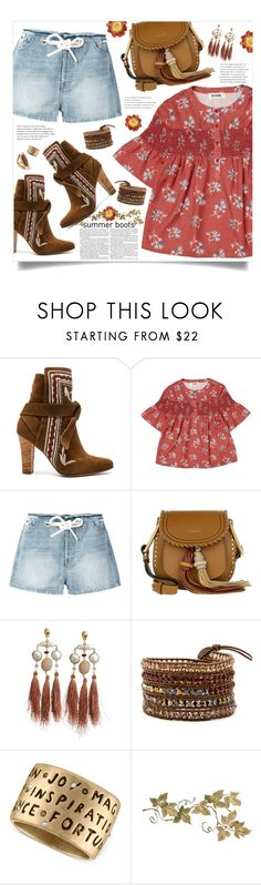 """summer boots"" by mmk2k ❤ liked on Polyvore featuring Ulla Johnson, Diesel, Chloé, Gas Bijoux, Rachel Rachel Roy, Topshop, Summer, Boots, booties and summerbooties"