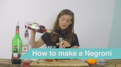 How to Make a Negroni - Cocktail Tutorial by Tess Posthumus