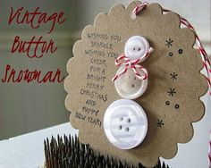 In the House of Mama Stacey: 7 Winter Solstice Button Crafts