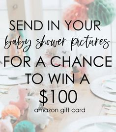 baby shower pictures contest