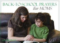 4 Back-To-School Prayers for Moms