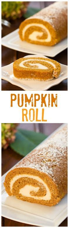 Pumpkin Roll | With a cream cheese filling, this classic fall treat always gets rave reviews!