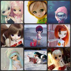 I love Japanese Ball Socket Dolls