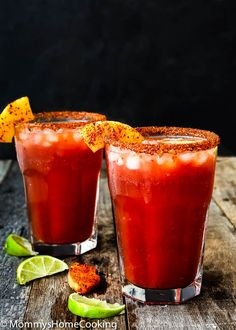 This Pineapple Michelada is the perfect beer cocktail for summer! It has it all going on: savory spicy sweet & tart. So good and so easy! Cocktail Party Food, Cocktail Drinks, Cocktail Recipes, Cocktails, Mix Drinks, Fancy Drinks, Fruit Drinks, Cold Drinks, Michelada Mix
