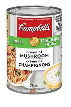 Creamy Italiano Chicken and Pasta Recipe Rice Bake Recipes, Sauce Recipes, Pasta Recipes, Cooking Recipes, Creamy Chicken Carbonara, Campbells Mushroom Soup, Creamed Mushrooms, Stuffed Mushrooms, Miniature