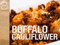 Get this all-star, easy-to-follow Buffalo Cauliflower with Blue Cheese Sauce recipe from Food Network Kitchen