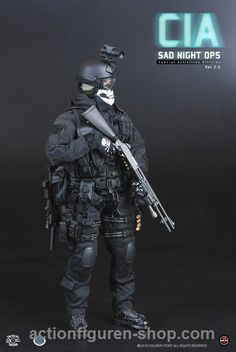 www.actionfiguren-shop.com | CIA - SAD Night OPS Version 2.0 | Online 1:6 Figuren und Zubehör kaufen