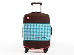 Housse à valise pour businessmen branchés, afin d'être à la mode jusqu'au bout de votre bagage tout en le protégeant des impacts et des rayures