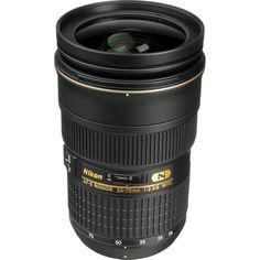 Nikon AF-S Nikkor 24-70mm f/2.8G ED Autofocus Lens (Black) USA