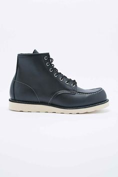 """Red Wing 1907 6"""" Classic Moc Toe Boots in Black"""