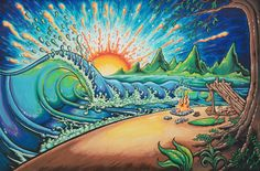 Bridging Art & Adventure: 14 Questions with Surfer/Artist Drew Brophy