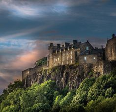 Deluxe Ltd Edition  Photographic Print of Stirling Castle Scotland.