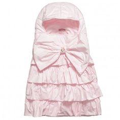 Miss Blumarine Pink Padded Baby Nest at Childrensalon.com