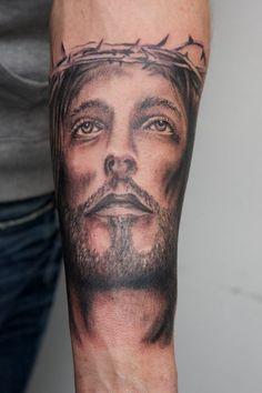 Forearm Jesus Tattoos 50 Jesus Forearm Tattoos For Men Jesus Tattoos Tons Of Jesus Tattoo Designs Amp Ideas 64 Men Jesus Tattoo Designs 100 Optical Illusion Tattoos For Men Eye Deceiving Designs 85 Purposeful Forearm Tattoo Ideas And Designs To Fell In Holy Tattoos, Best 3d Tattoos, Forarm Tattoos, Unique Tattoos, Leg Tattoos, Sleeve Tattoos, Tatoos, Tattoo Quotes For Men, Arm Tattoos For Guys