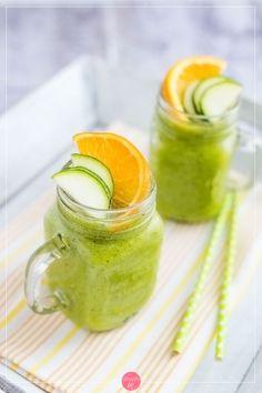 Koktajl z cukinii, świetny i zdrowy deser lub pożywne śniadanie <3.  #przepis #smoothie #cukinia #zucchini #koktajl #fit