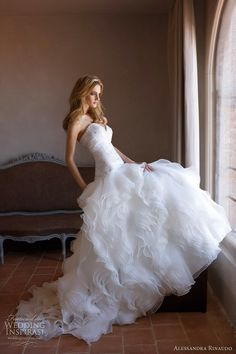 Alessandra Rinaudo Wedding Dresses 2012 | Wedding Inspirasi