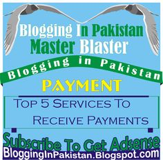 Top 5 Methods to Receive Payments Pakistan