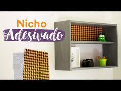 DIY - Nicho de Madeira Adesivado - YouTube