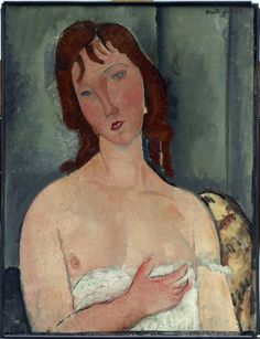 """Portrait, Fine Art Pastel Painting """"Standing Nude, After Modigliani"""" by Abstract Artist Nijole Rasmussen Amedeo Modigliani, Dallas Museums, Painted Picture Frames, Oil Painting Pictures, Pastel Portraits, Renoir, Figure Painting, Erotic Art, Art Museum"""