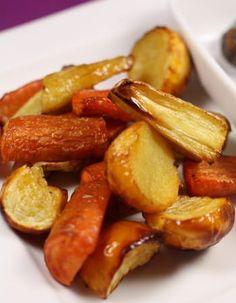 Légumes rôtis au four | Audrey Cuisine