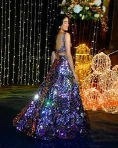 Jhanvi Kapoor Dazzles Bright In Manish Malhotra At Priyanka And Nick's Reception - HungryBoo Call/ WhatsApp for Purchase inqury : Bride Reception Dresses, Wedding Dresses For Girls, Indian Wedding Outfits, Indian Outfits, Bridal Dresses, Bridal Outfits, Manish Malhotra Lehenga, Manish Malhotra Bridal, Lehnga Dress