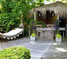 Backyard Tiki Huts | Apartment Therapy