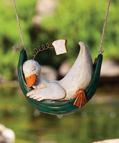 Loving this Duck Daydreamer Figurine on #zulily! #zulilyfinds