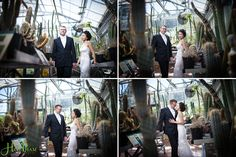 The Arid House heats up with a bridal couple visit.  Nancy & Jeremy Wedding | UC Botanical Garden in Berkeley California