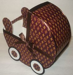 Louis Vuitton Inspired Baby Carriage Table By Rainbowshowers 19 00