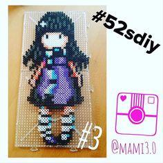 Gorjuss hama beads by mami3.0