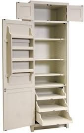 Small Larder Cupboard Handpainted In Farrow And Ball Estate Eggshell - Free standing kitchen larder cupboards
